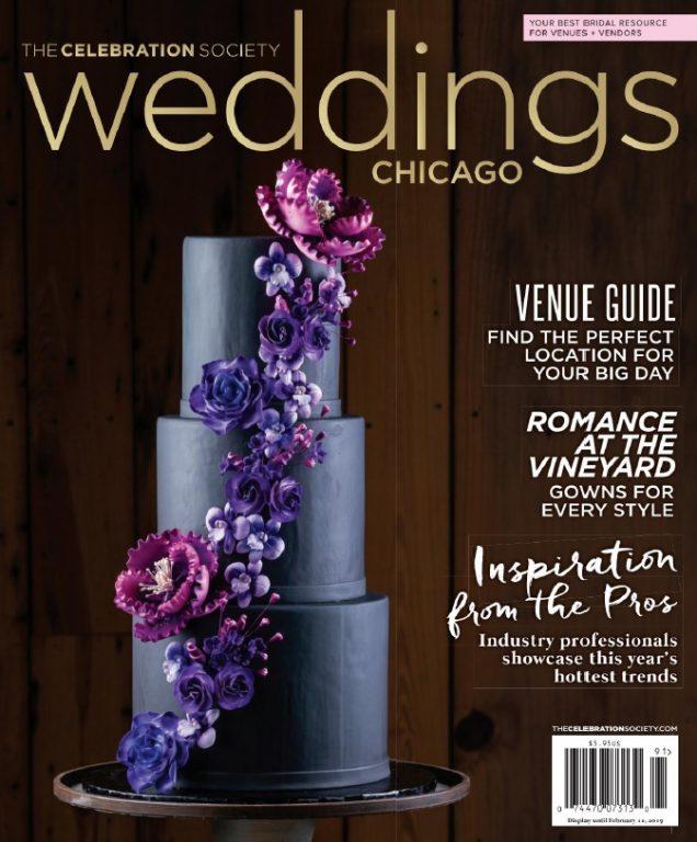The Celebration Society Weddings Chicago – Winter-Spring 2019