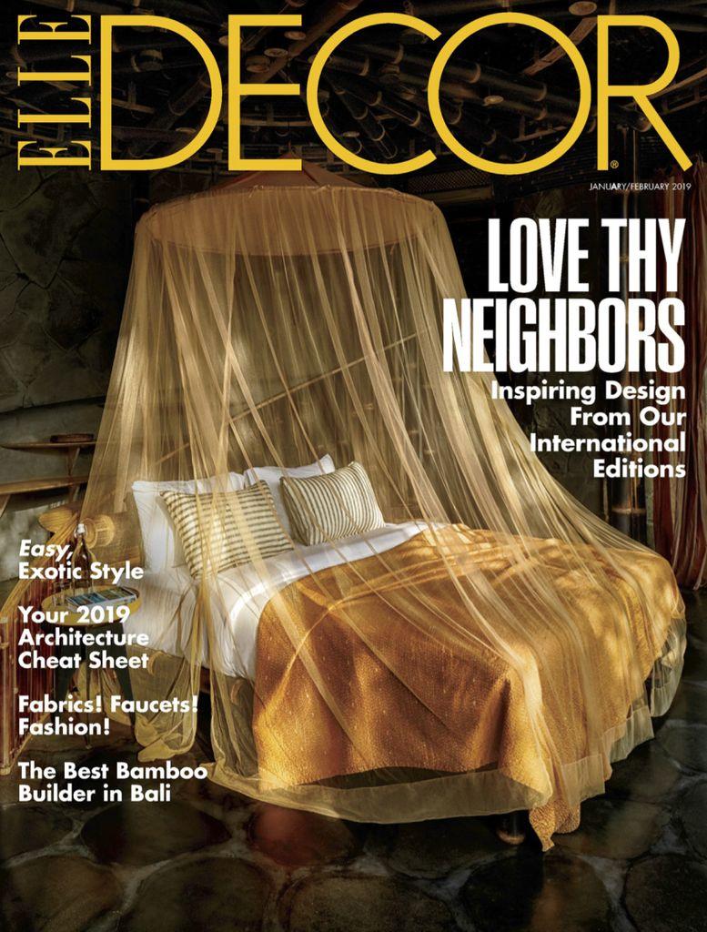 Elle Decor USA – January 2019