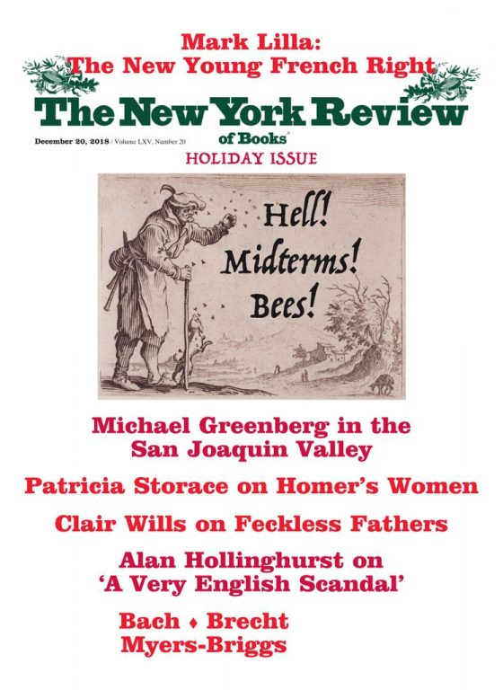 The New York Review Of Books – December 20, 2018