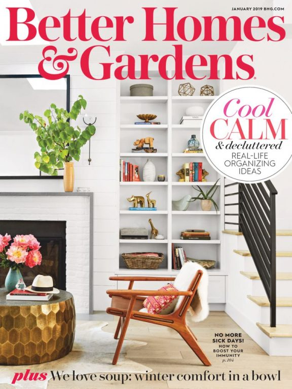 Better Homes & Gardens USA – January 2019