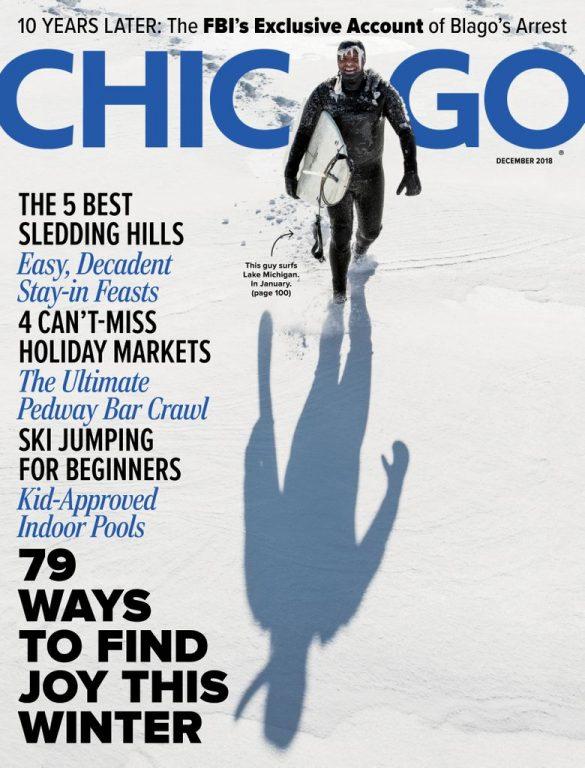 Chicago Magazine – December 2018