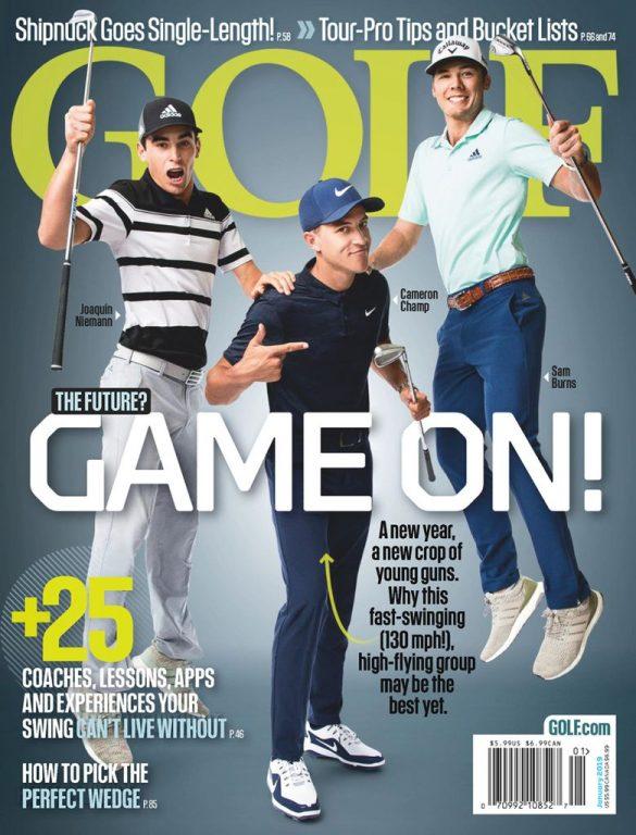 Golf Magazine USA – January 2019