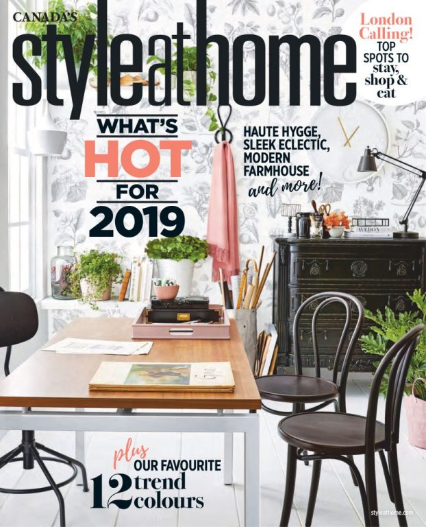 Style At Home Canada – January 2019