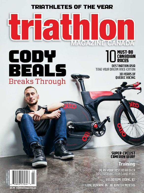 Triathlon Magazine Canada – January 2019
