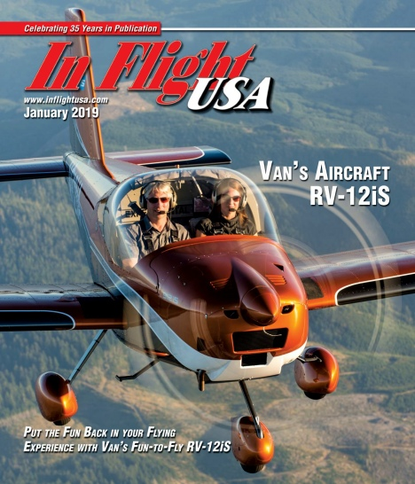 In Flight USA – January 2019