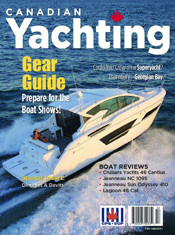 Canadian Yachting – January 2019