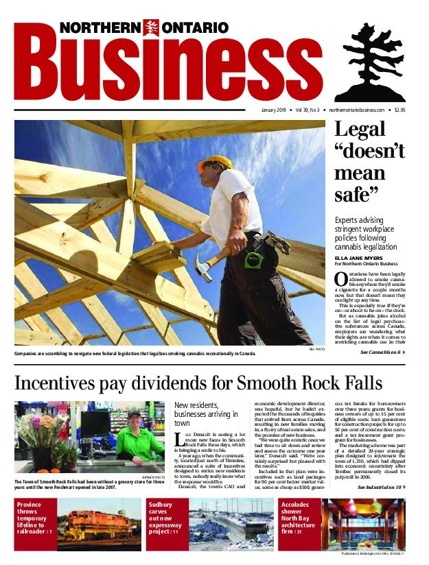 Northern Ontario Business – January 2019