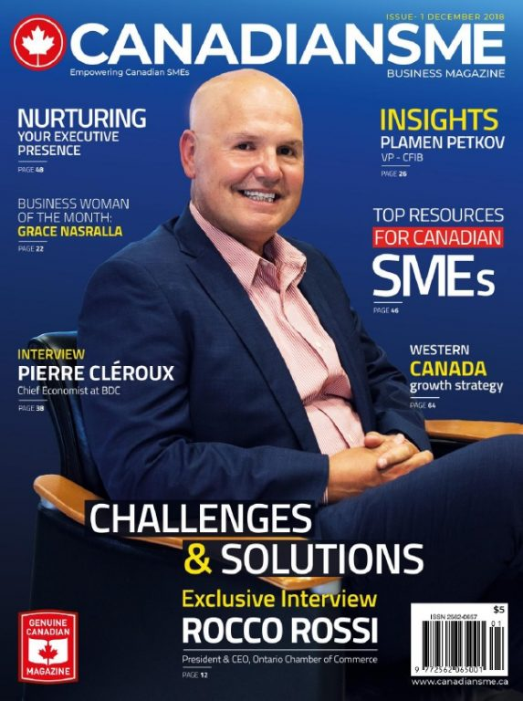 CanadianSME Business Magazine – December 2018