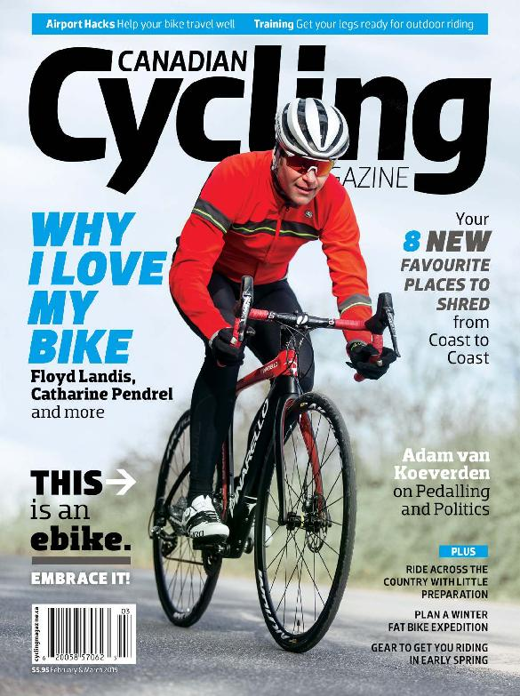 Canadian Cycling – February-March 2019