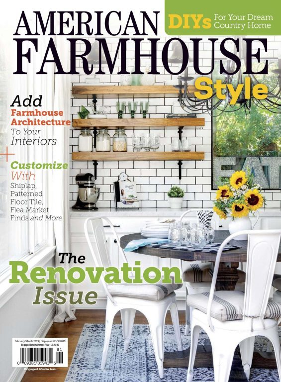 American Farmhouse Style – January 2019