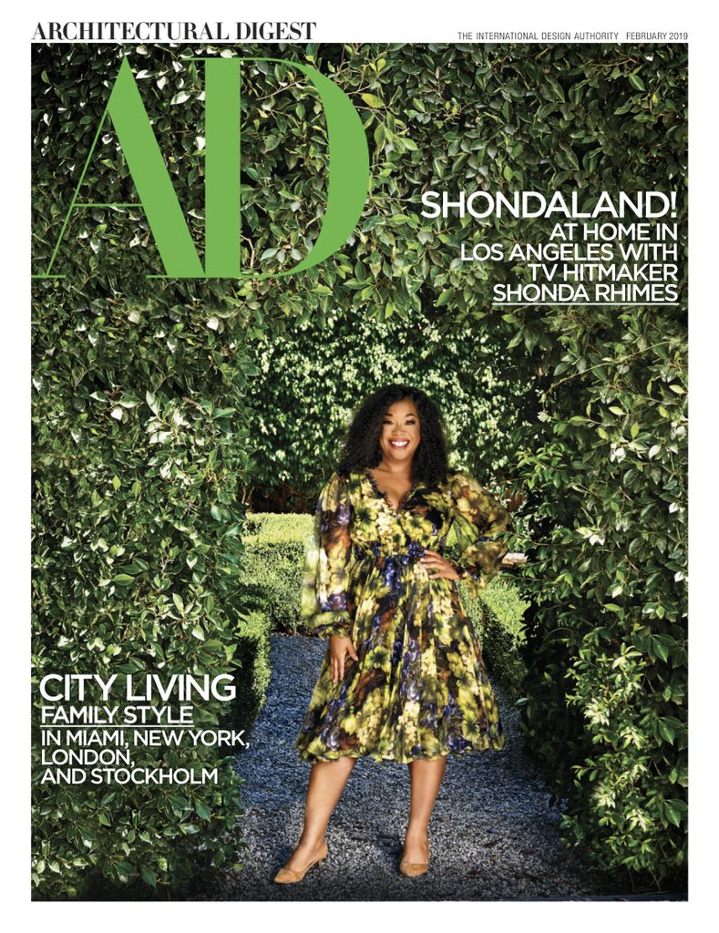 Architectural Digest USA – February 2019