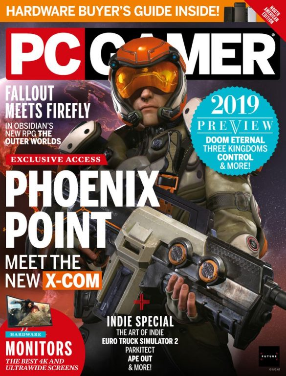 PC Gamer USA – March 2019