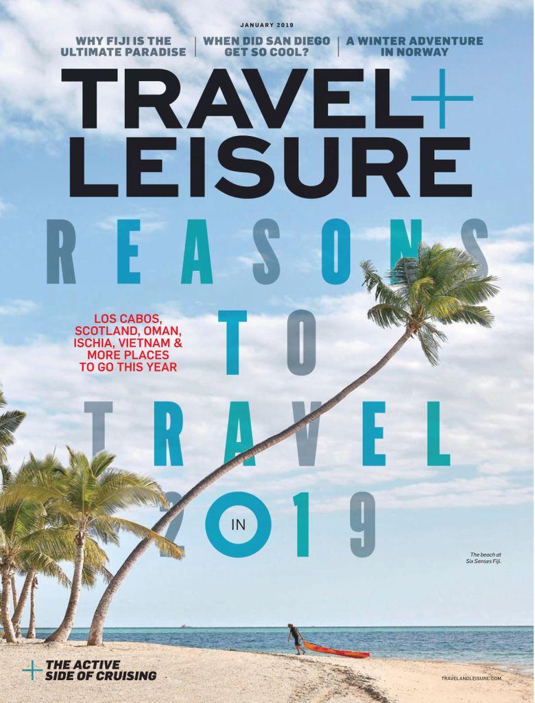 Travel+Leisure USA – January 2019