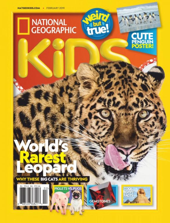 National Geographic Kids USA – February 2019