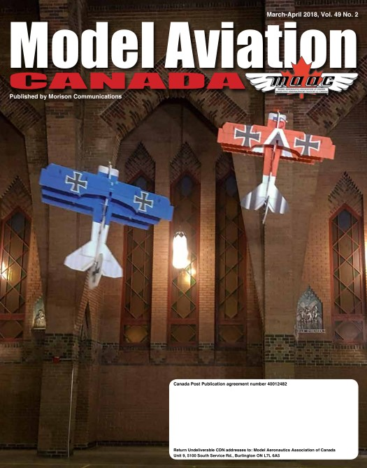 Model Aviation Canada – March-April 2018