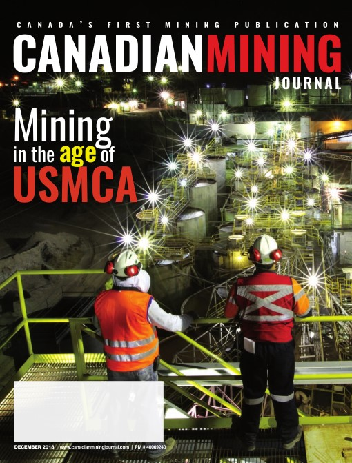 Canadian Mining Journal – December 2018