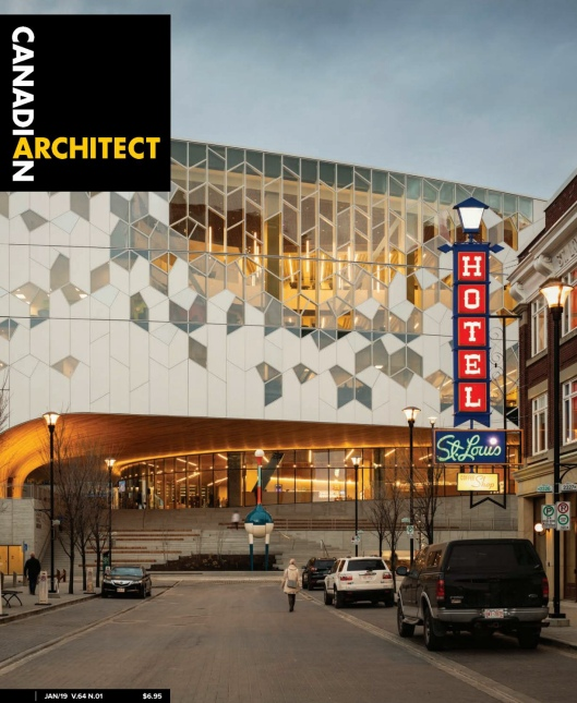 Canadian Architect – January 2019