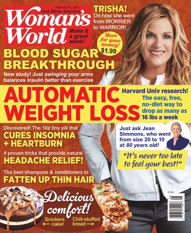 Woman's World USA – February 25, 2019