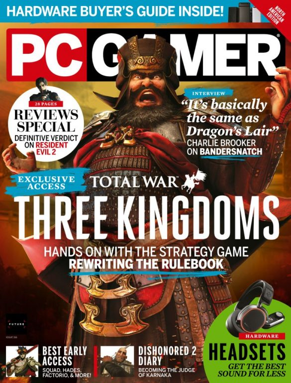 PC Gamer USA – April 2019