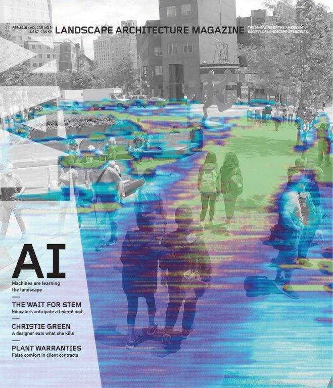 Landscape Architecture Magazine USA – February 2019