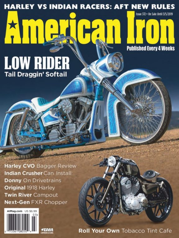 American Iron Magazine – January 2019