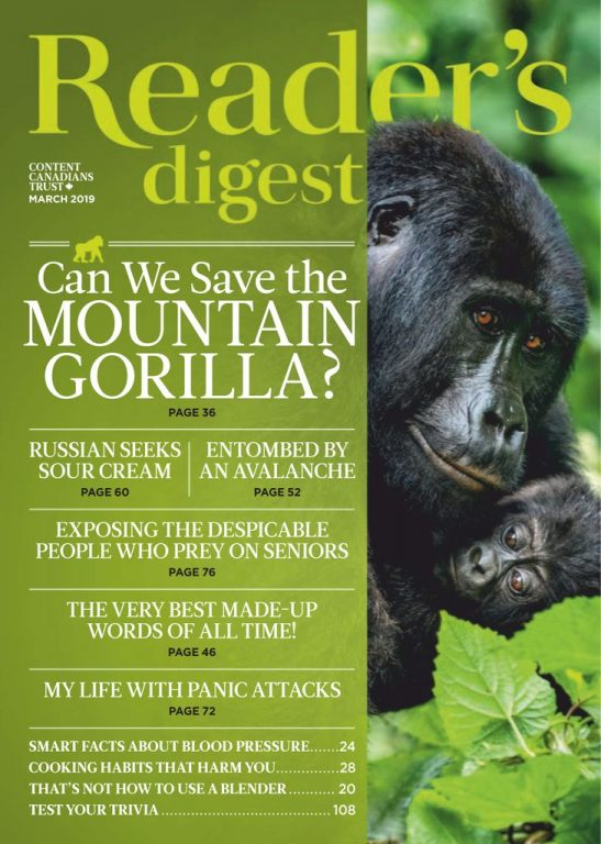 Reader's Digest Canada – March 2019