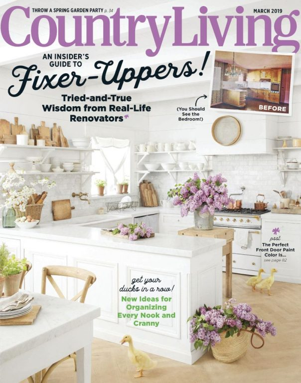 Country Living USA – March 2019