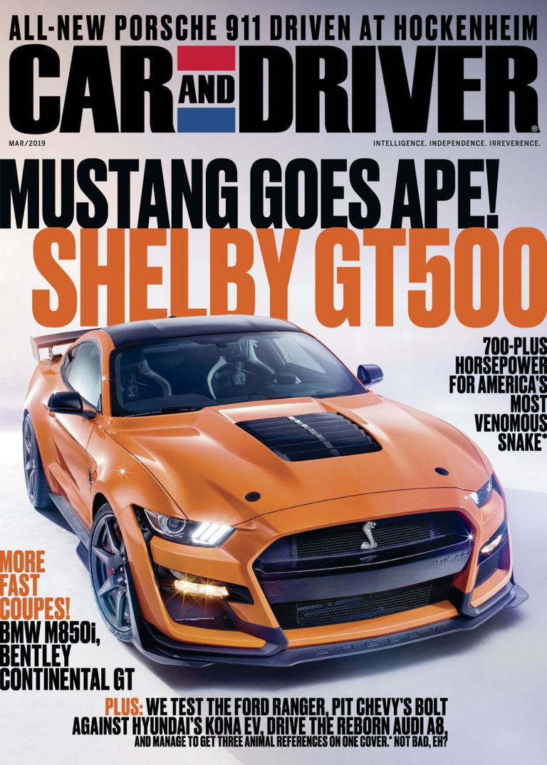 Car And Driver USA – March 2019
