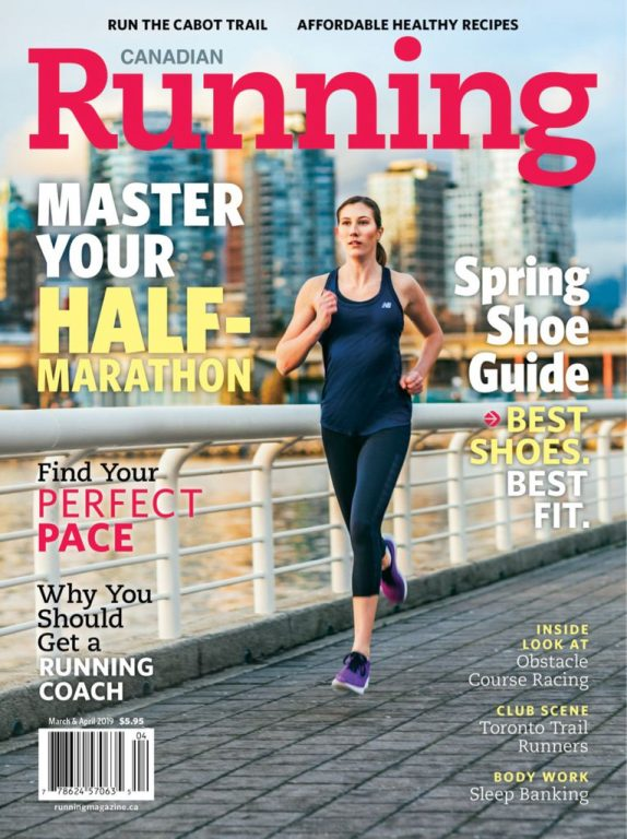 Canadian Running – March-April 2019