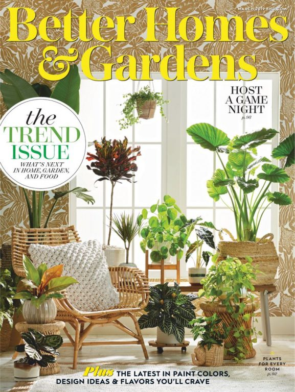 Better Homes & Gardens USA – March 2019