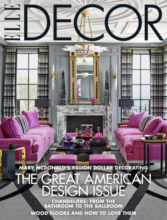 Elle Decor USA – March 2019