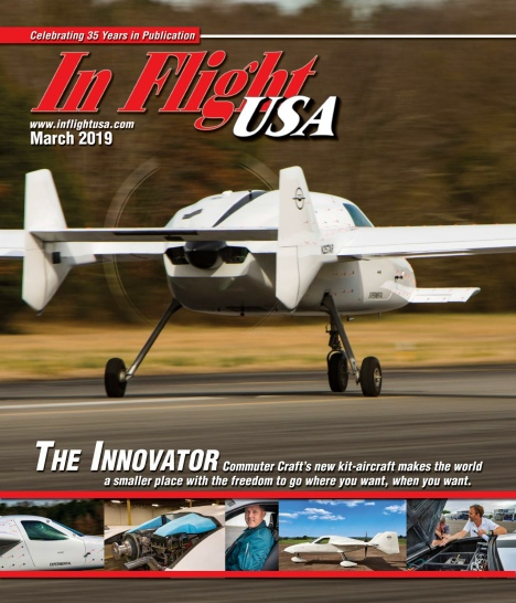 In Flight USA – March 2019