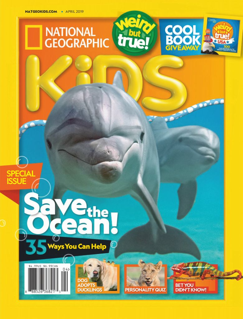 National Geographic Kids USA – April 2019