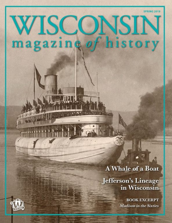 Wisconsin Magazine Of History – March 2019