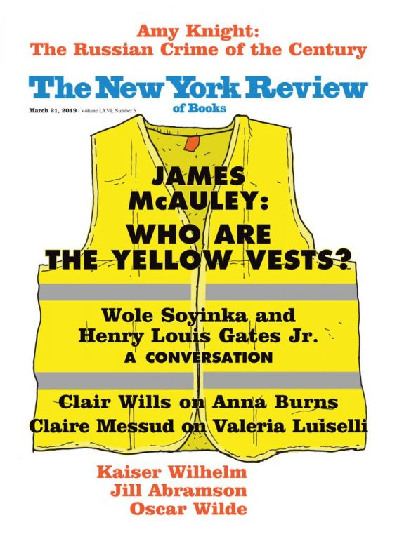 The New York Review Of Books – March 21, 2019