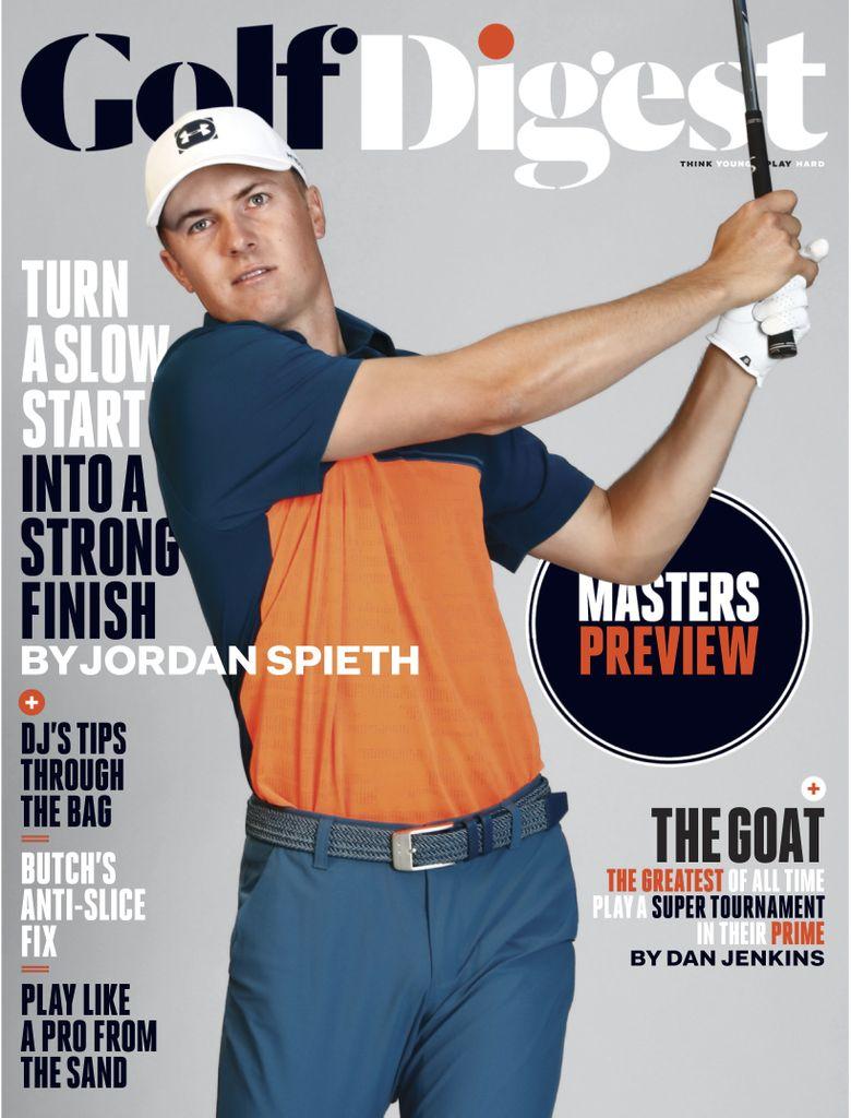 Golf Digest USA – April 2019