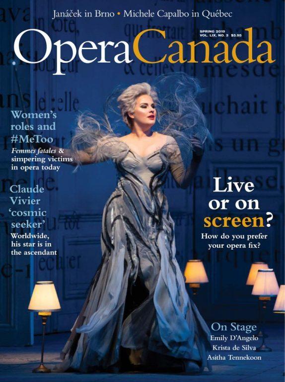 Opera Canada – March 2019