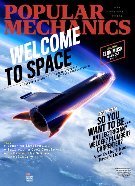 Popular Mechanics USA – April 2019