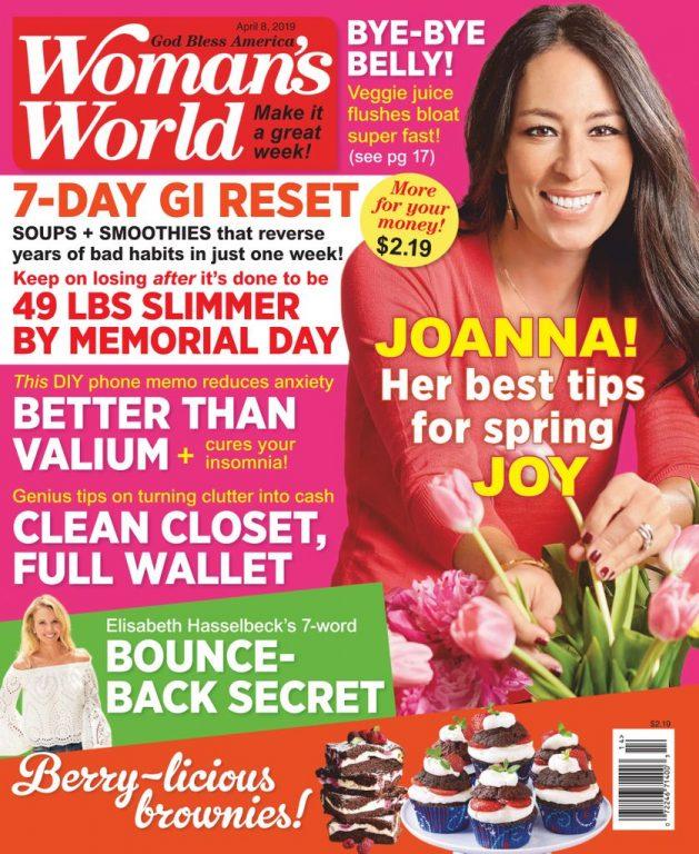 Woman's World USA – April 08, 2019