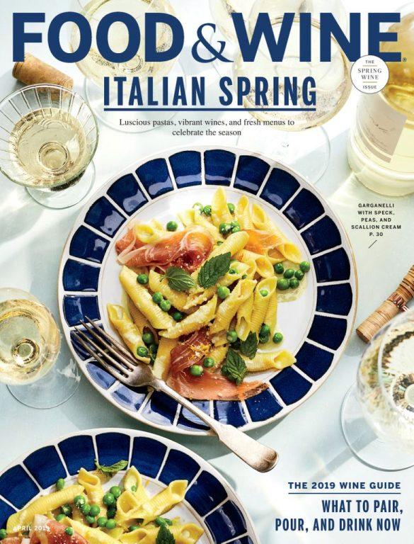 Food & Wine USA – April 2019