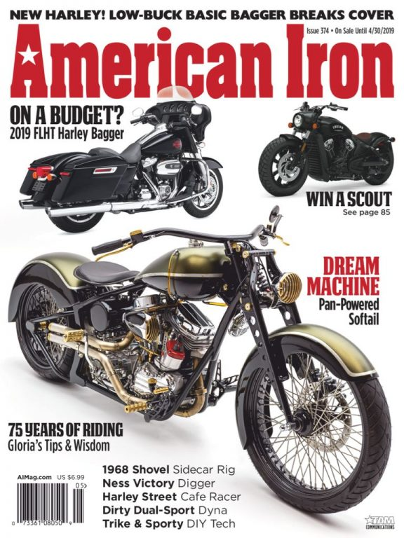 American Iron Magazine – April 2019