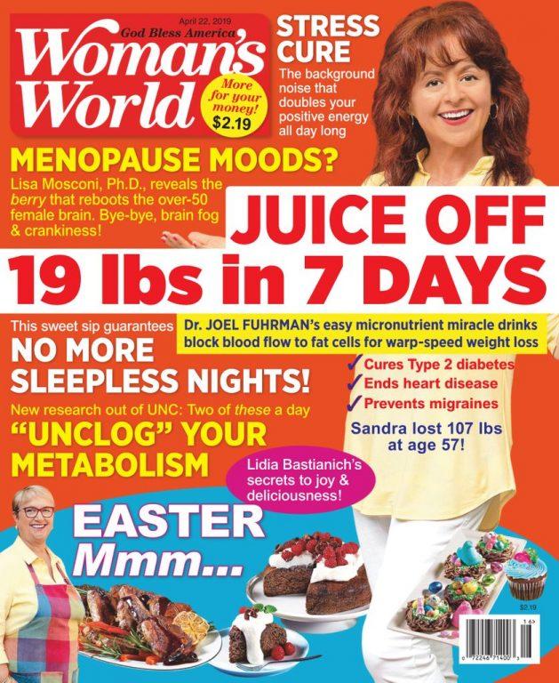 Woman's World USA – April 22, 2019
