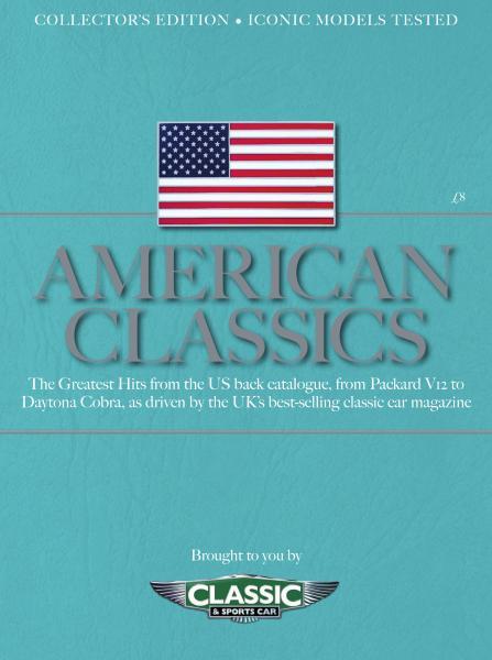 Classic & Sports Car UK – American Classics – April 2019