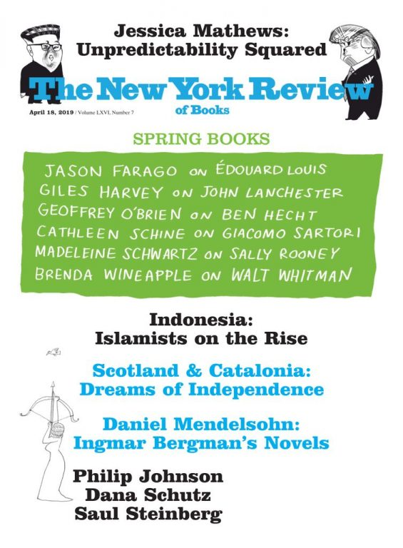 The New York Review Of Books – April 18, 2019