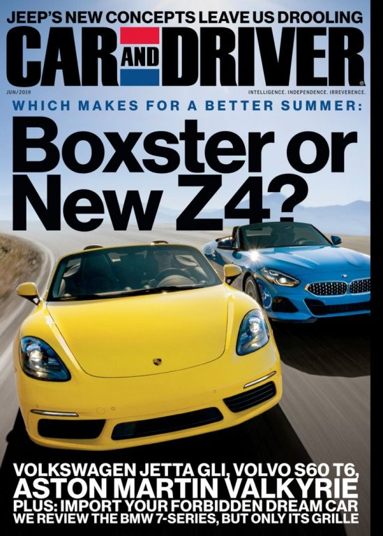 Car And Driver USA – June 2019
