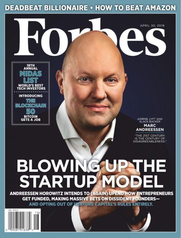 Forbes USA – April 30, 2019