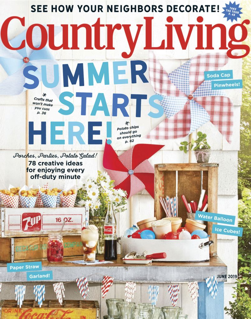 Country Living USA – June 2019