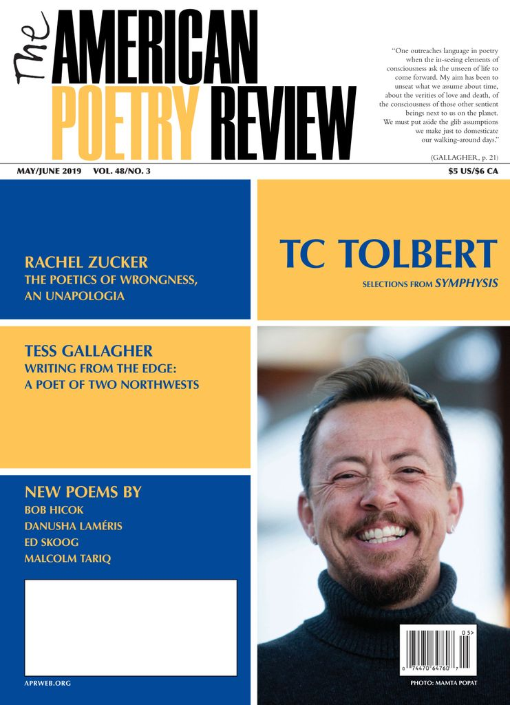 The American Poetry Review – May-June 2019