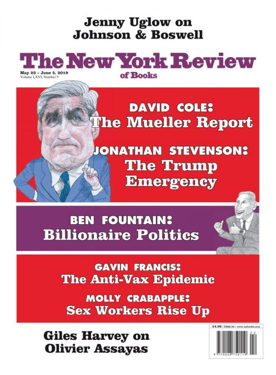 The New York Review Of Books – May 23, 2019