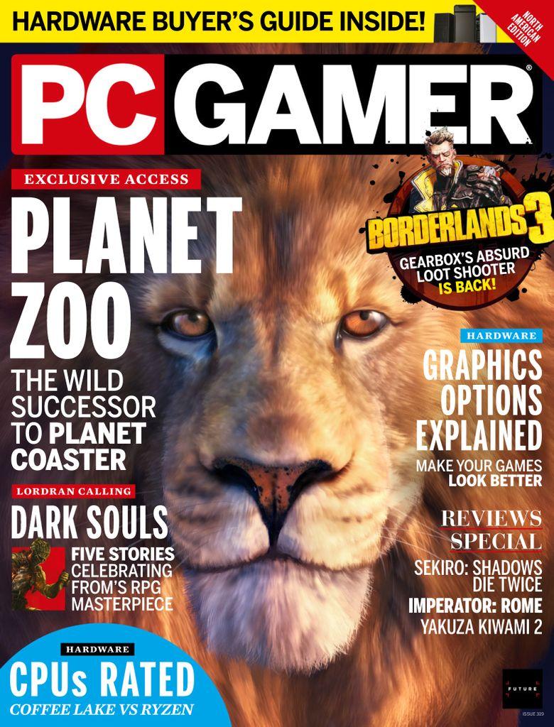 PC Gamer USA – July 2019